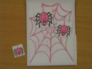 Színegyeztető 1. - Pókok - fejlesztő eszköz