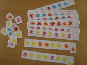 Sorozatok 5. - Virágok - fejlesztő eszköz
