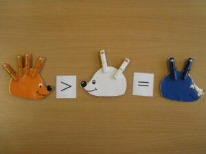 Színegyeztető 2. - Süni - fejlesztő eszköz